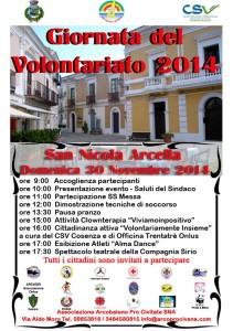 Programma Giornata del Volontariato
