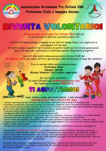 DIVENTA VOLONTARIO 2015